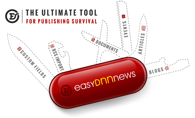 EasyDNNnews - The ultimate tool for publishing survival